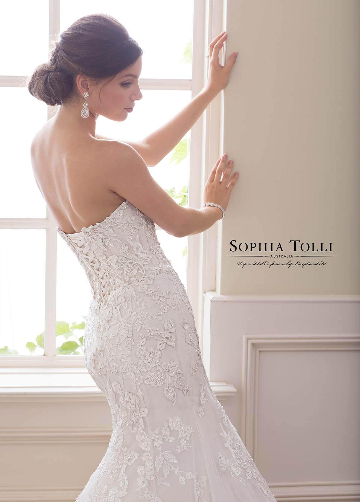 Stunning Sophia Tolli Wedding Dress : Serena Bridal